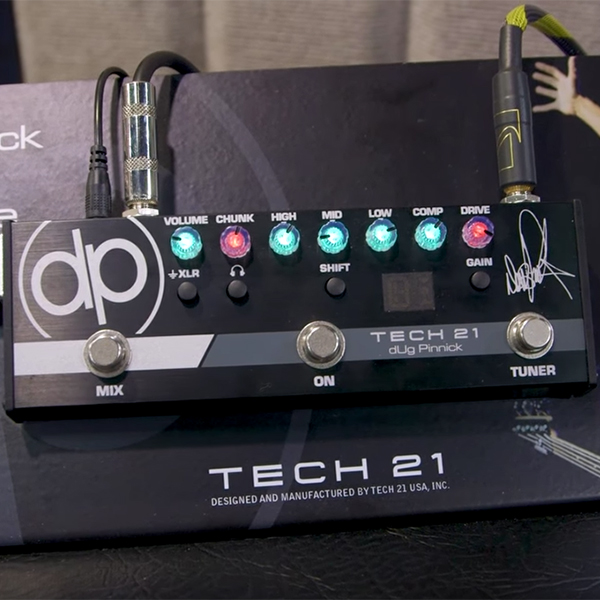 Tech 21 dUg Pinnick Signature Bass Distortion Pedal