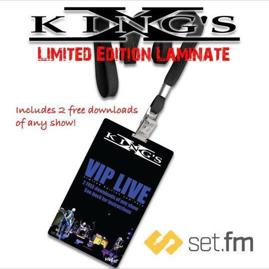 Hard Rock Icons King's X To Offer Instant Live Recordings Via VNUE's SET.FM!