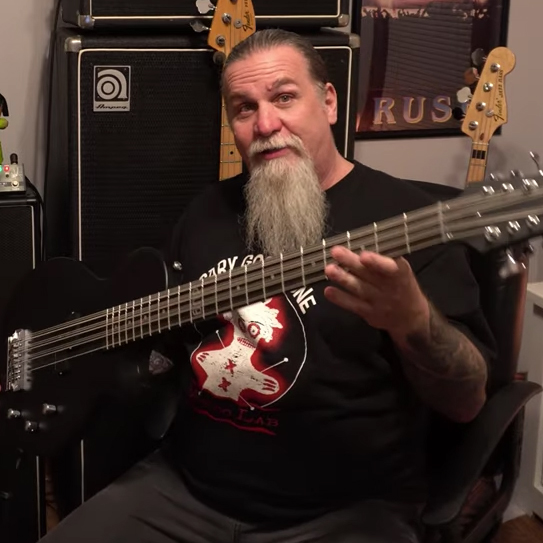 Tim Starace Schecter dUg Pinnick DP-12 / Tech 21 NYC DP-3X Pedal Video Review