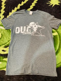 dUg and The Texas Poundation T-Shirt - Grey